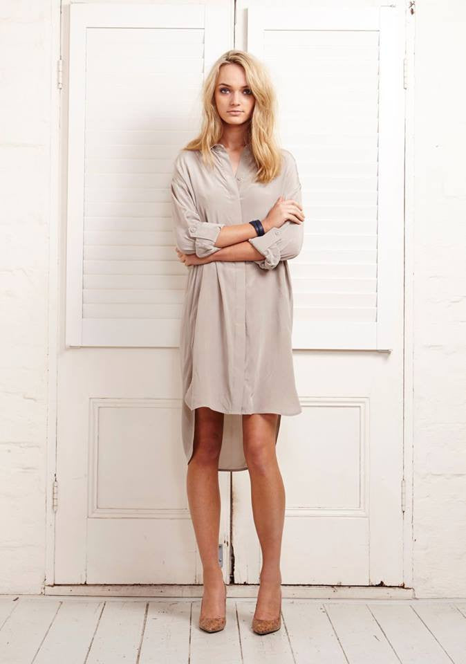 Wellingtons Shirt Dress