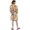Meadow White Linen Robe