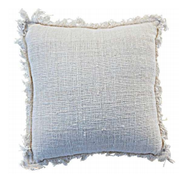 Cotton Open Weave Double Sided Cushion