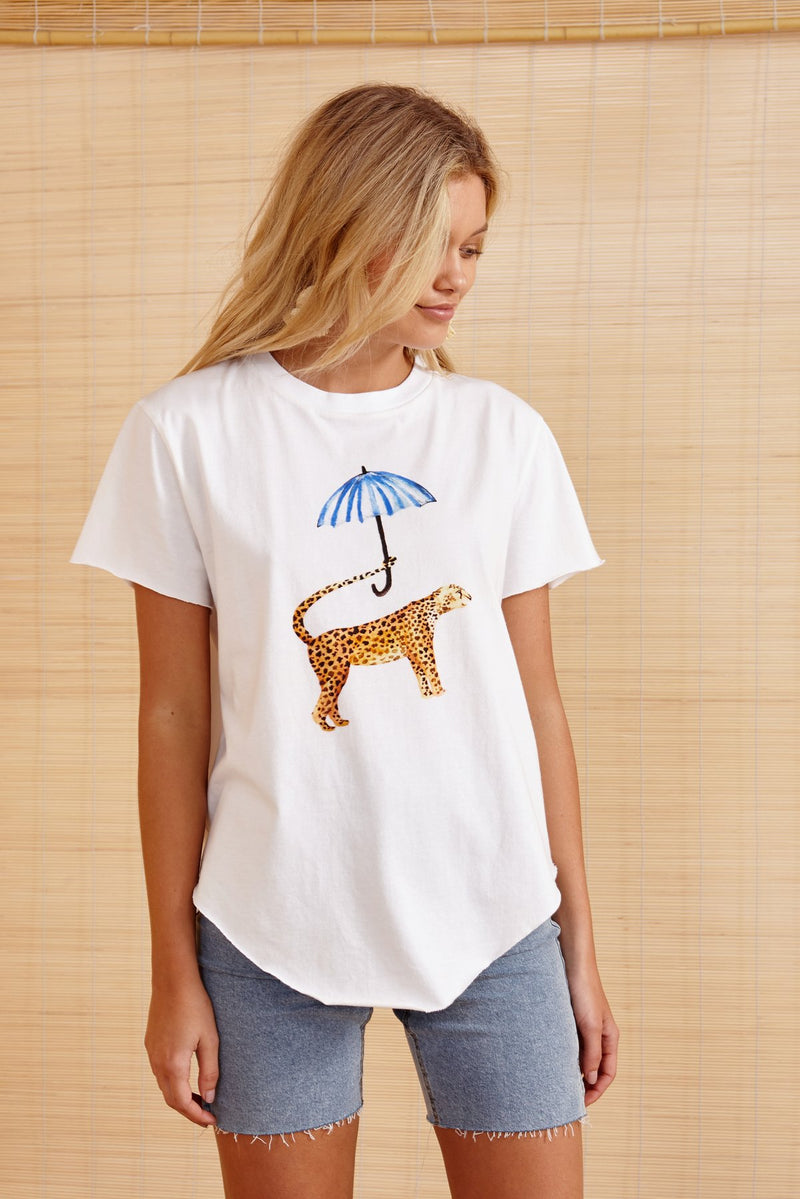 The Leopard's Brolly Tshirt