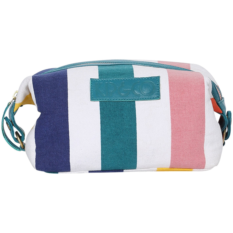 Big Stripes Primary Toiletry Bag