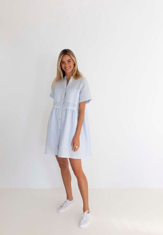 Pippa Linen Dress - 3 colours