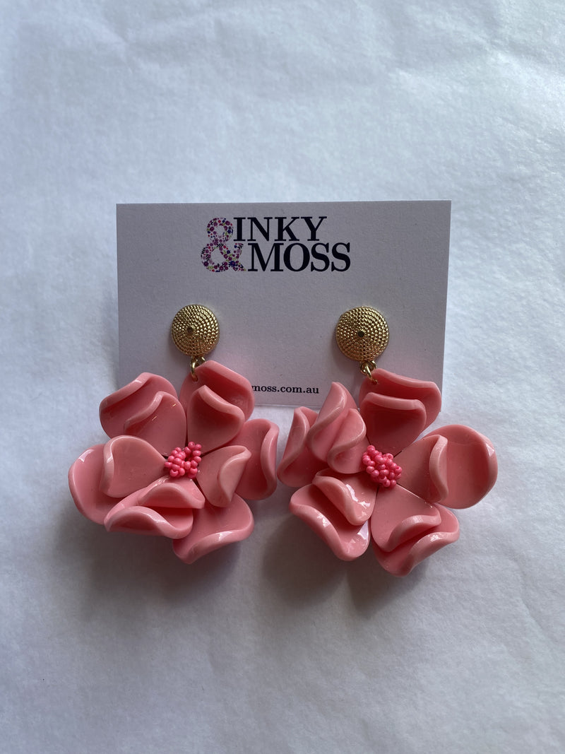 Inky & Moss Earrings #20