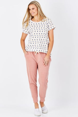 Wash Out Pant Pink