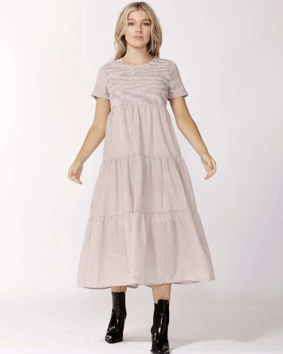 Homestead Gingham Dress