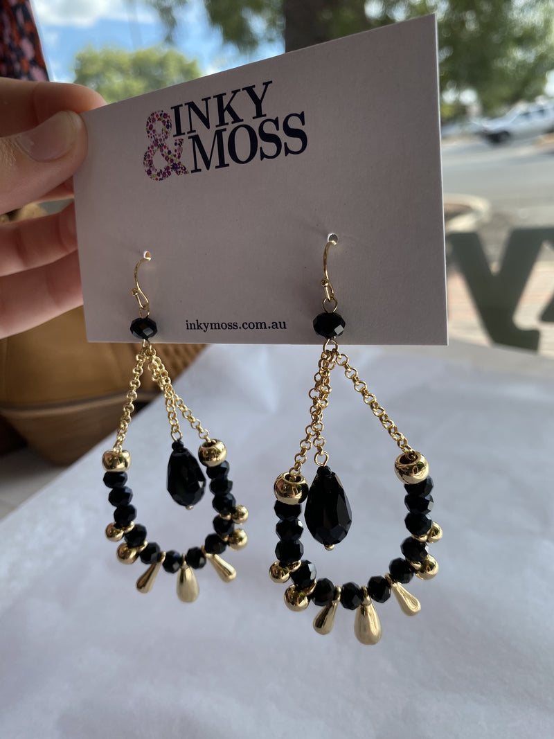 Inky & Moss Earrings #11