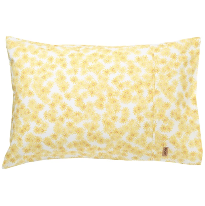 Forget Me Not Cotton Pillowcases - Standard 2P