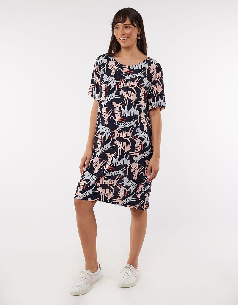 Tiger Shift Dress