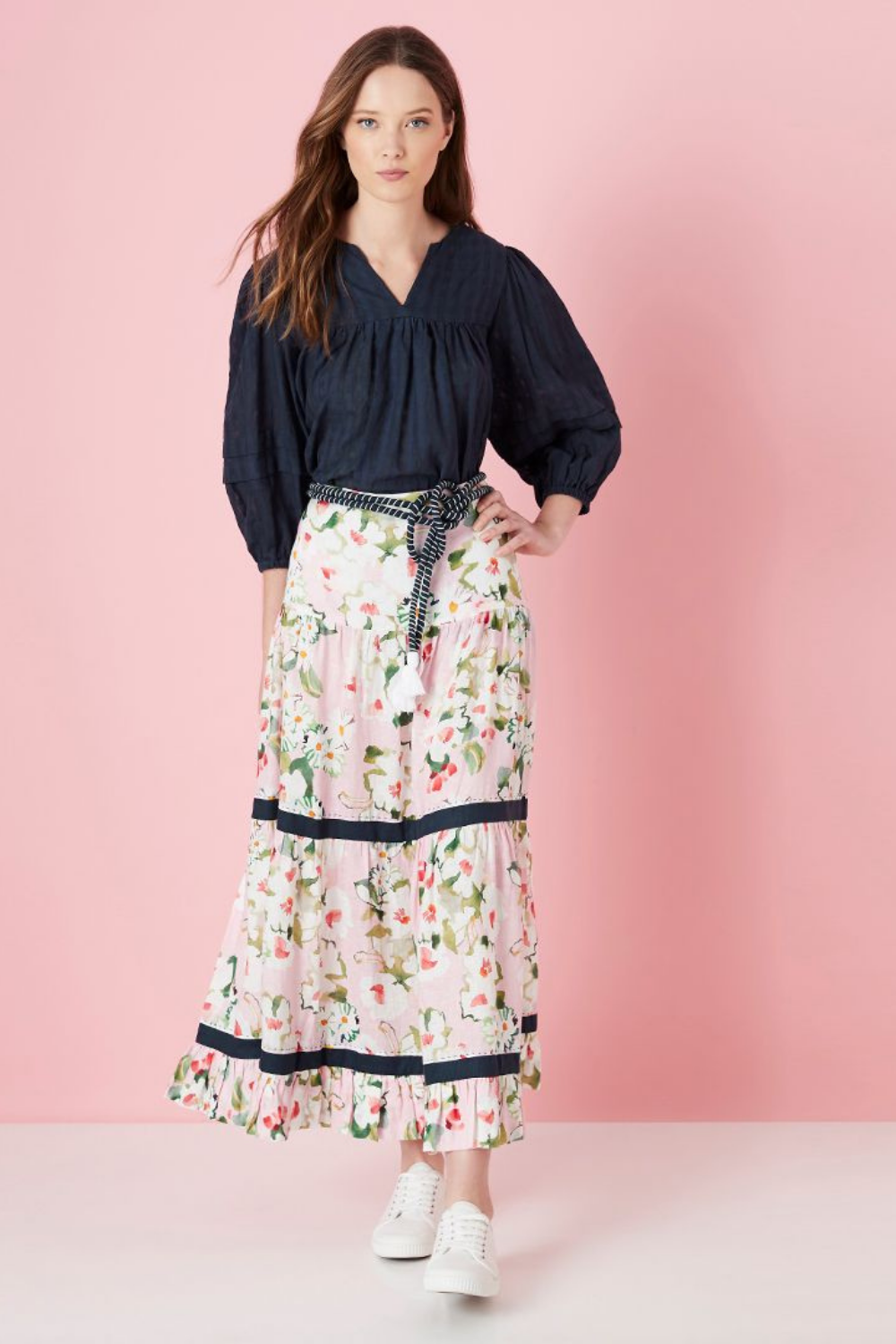 Noosa Tiered Skirt - 2 Colours