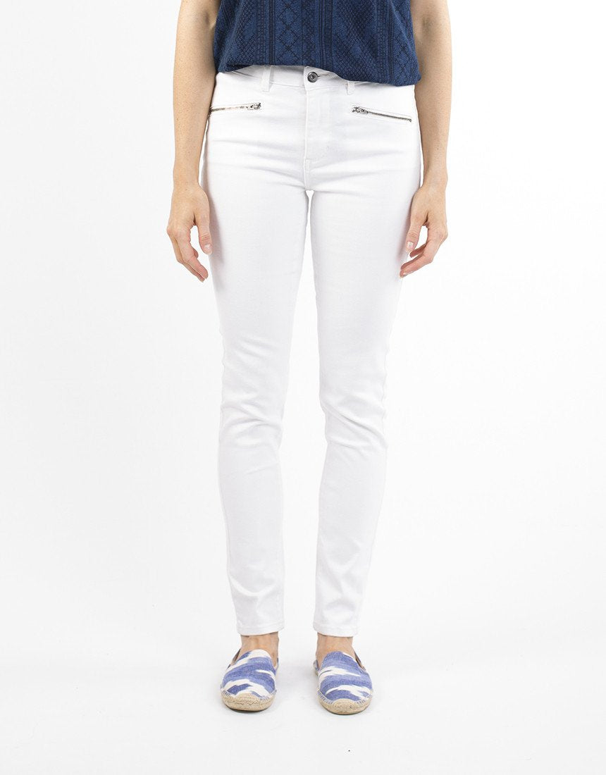 White Denim Jean