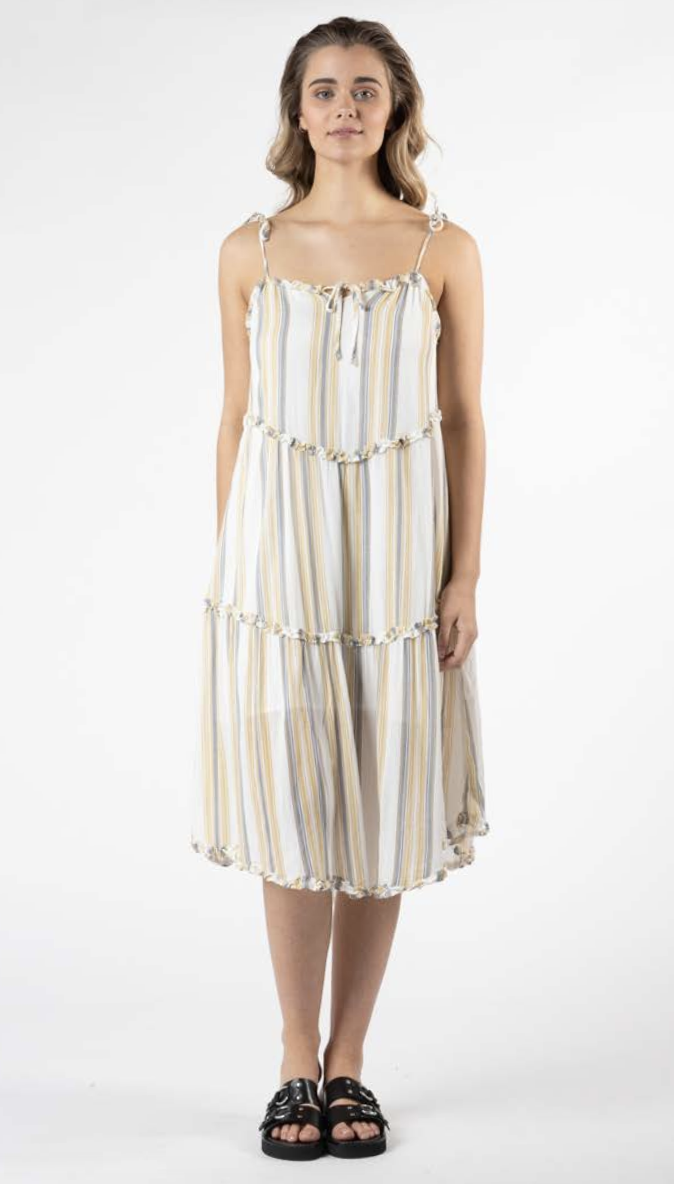 Eya Shoestring Dress