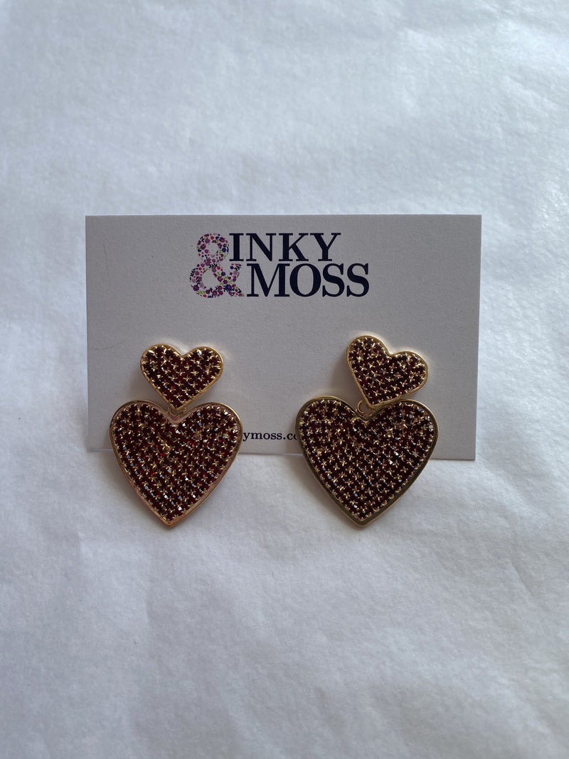 Inky & Moss Earrings #10