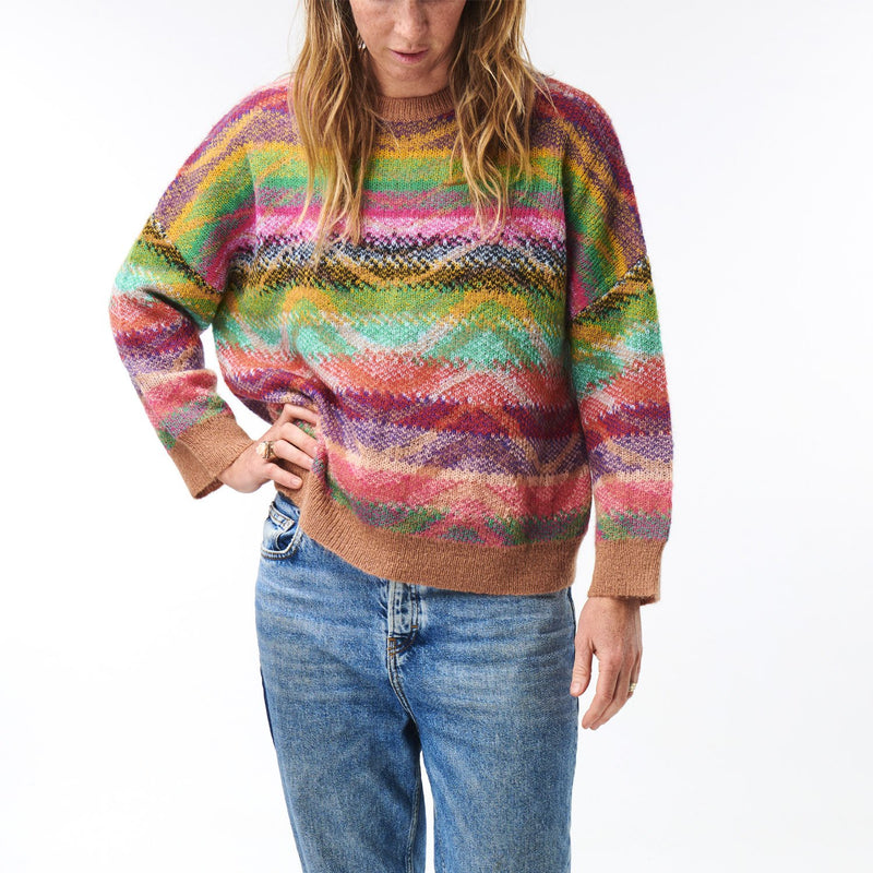 Ripple Rum Knitted Sweater