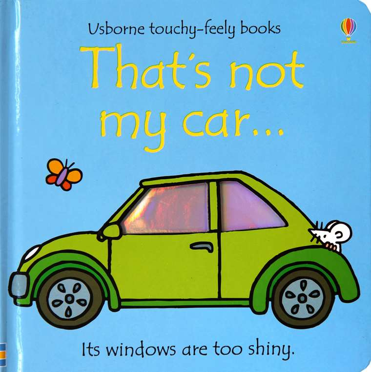 That's Not My Car Board Book