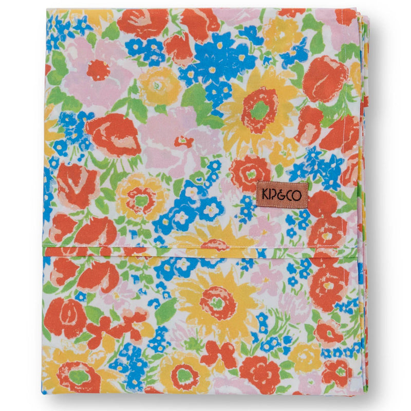 Spring Pollen Cotton Flat Sheet