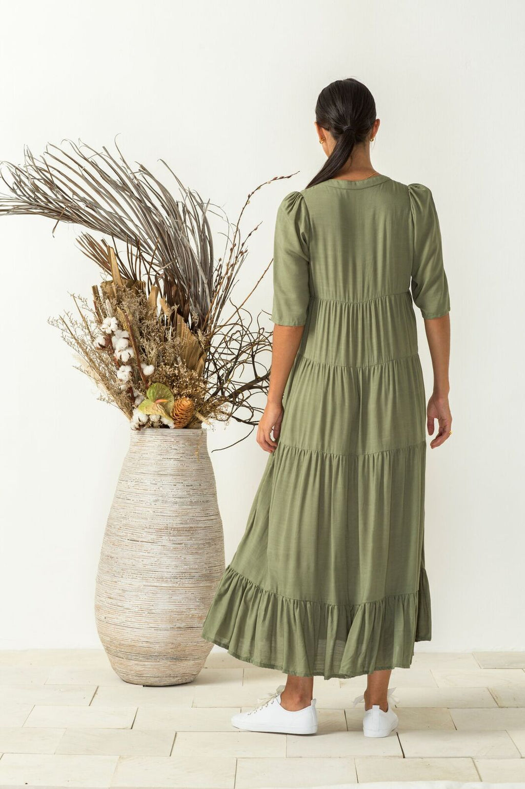 Aurellia Dress -sage