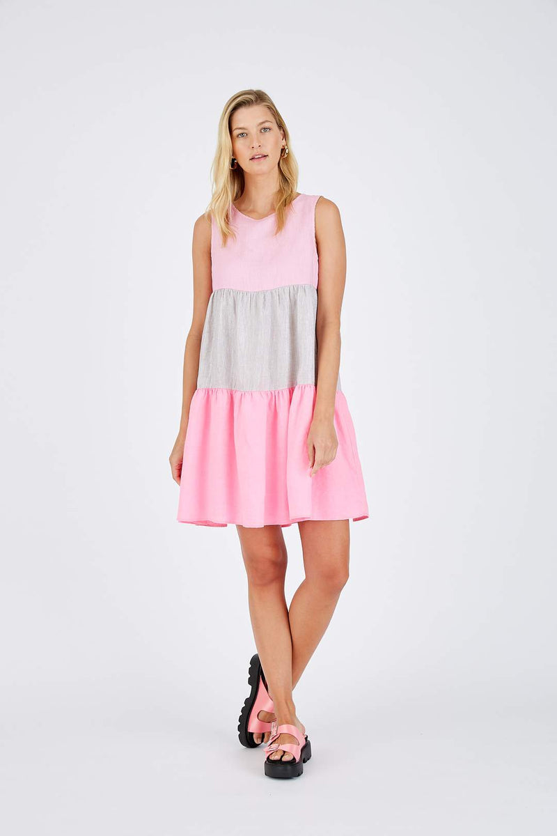 Picnic Splice Dress- 3 colours