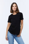 Saddle Hem Tee - 2 Colours