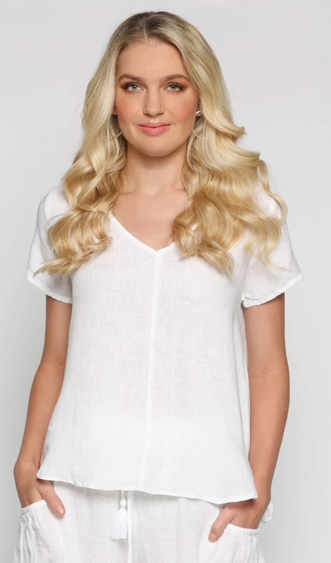 Lawrence Top -white