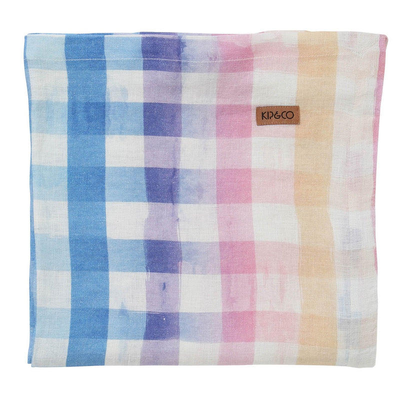 Across The Border Linen Tablecloth