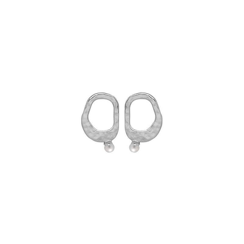 Riviera Small Pearl Earrings - 2 Colours