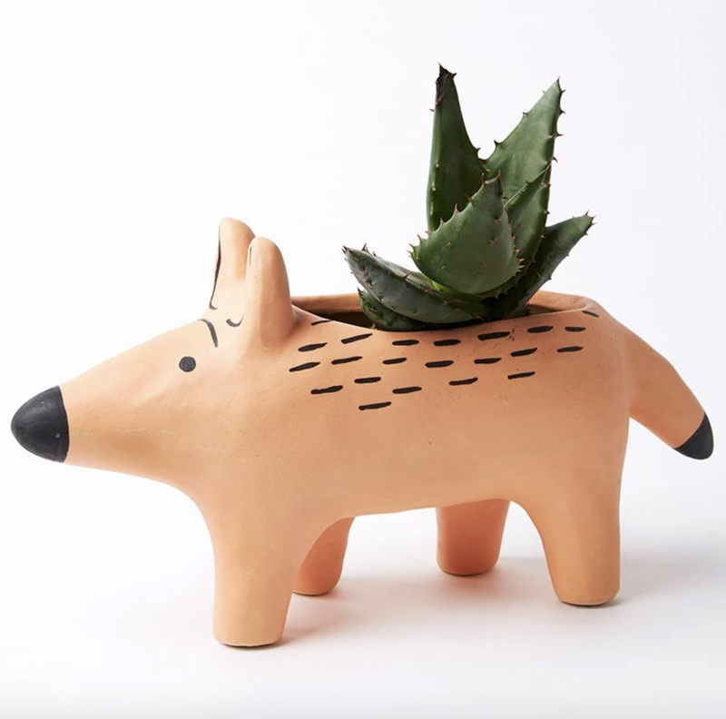 Peachy Dingo Planter Large