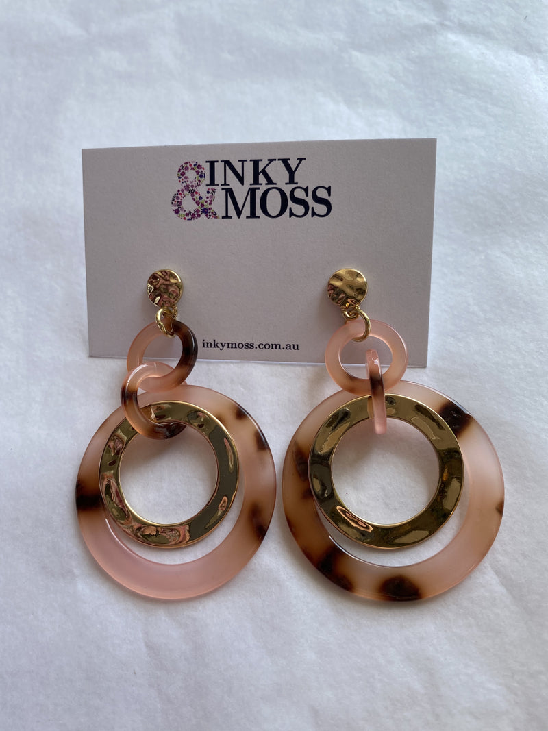 Inky & Moss Earrings #12