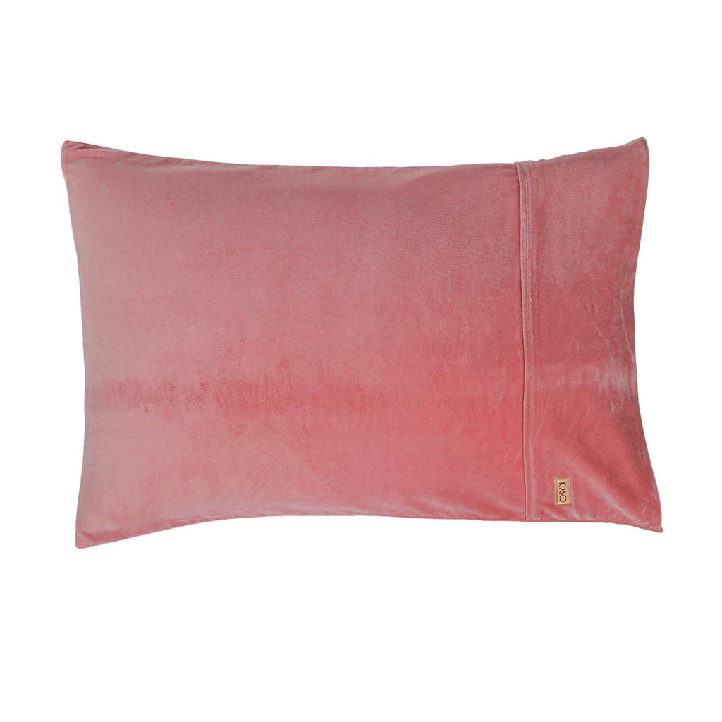 Velvet Pillowcases - 2P Standard Set