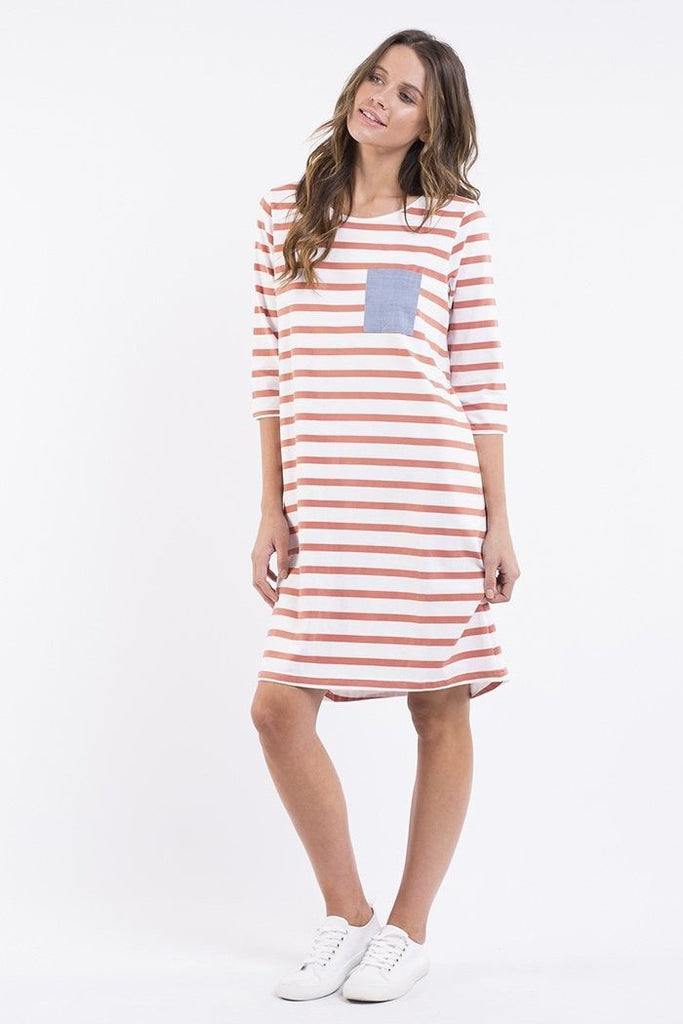 Billy Stripe Dress