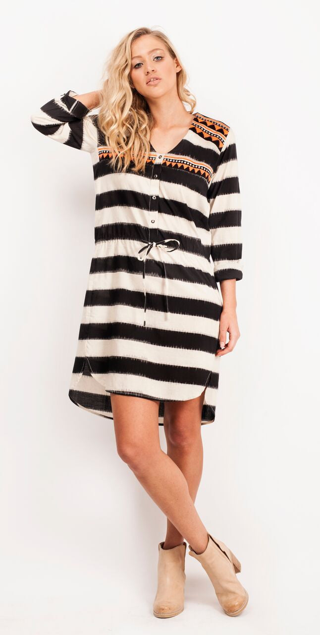 Pani Woven Shirt Dress