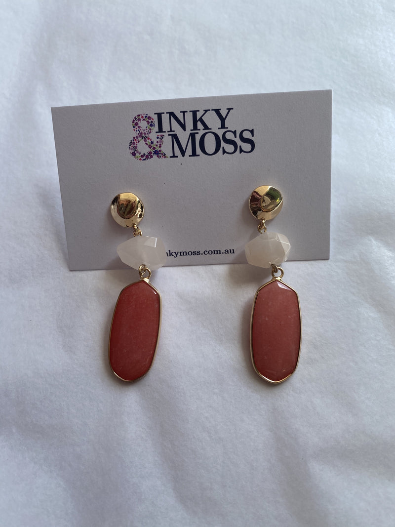 Inky & Moss Earrings #27