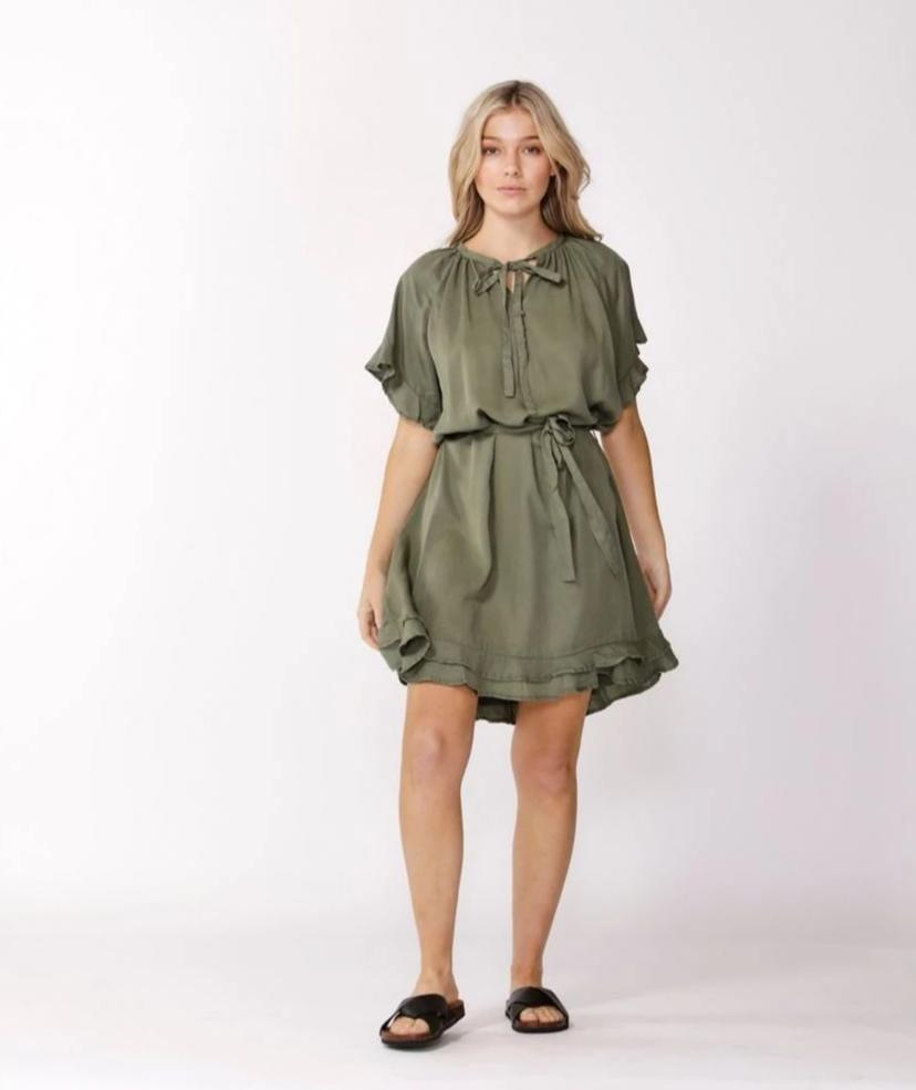 Ellie Dress -khaki