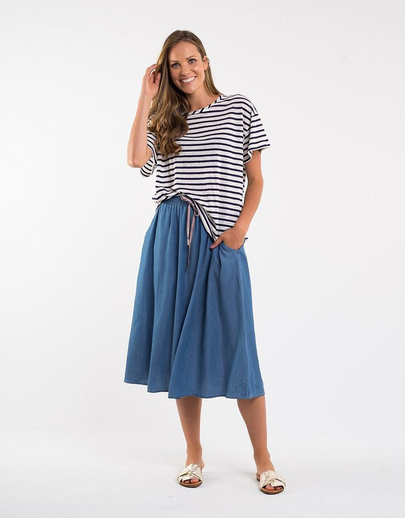 Willow Chambray Skirt