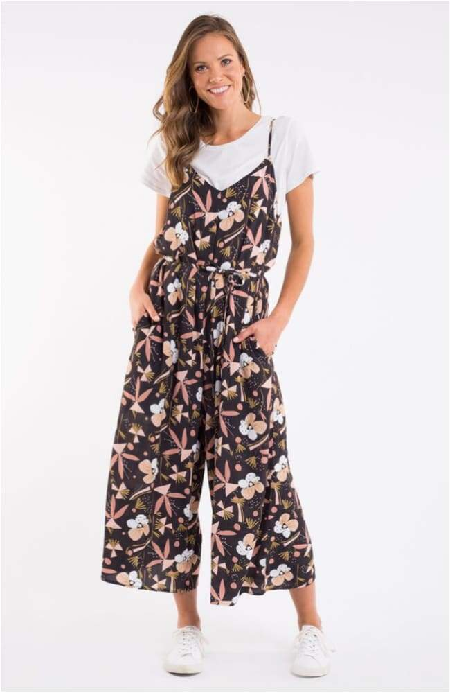 Midnight Blossom Jumpsuit