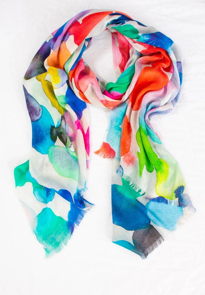 Directions Scarf - 5 Prints