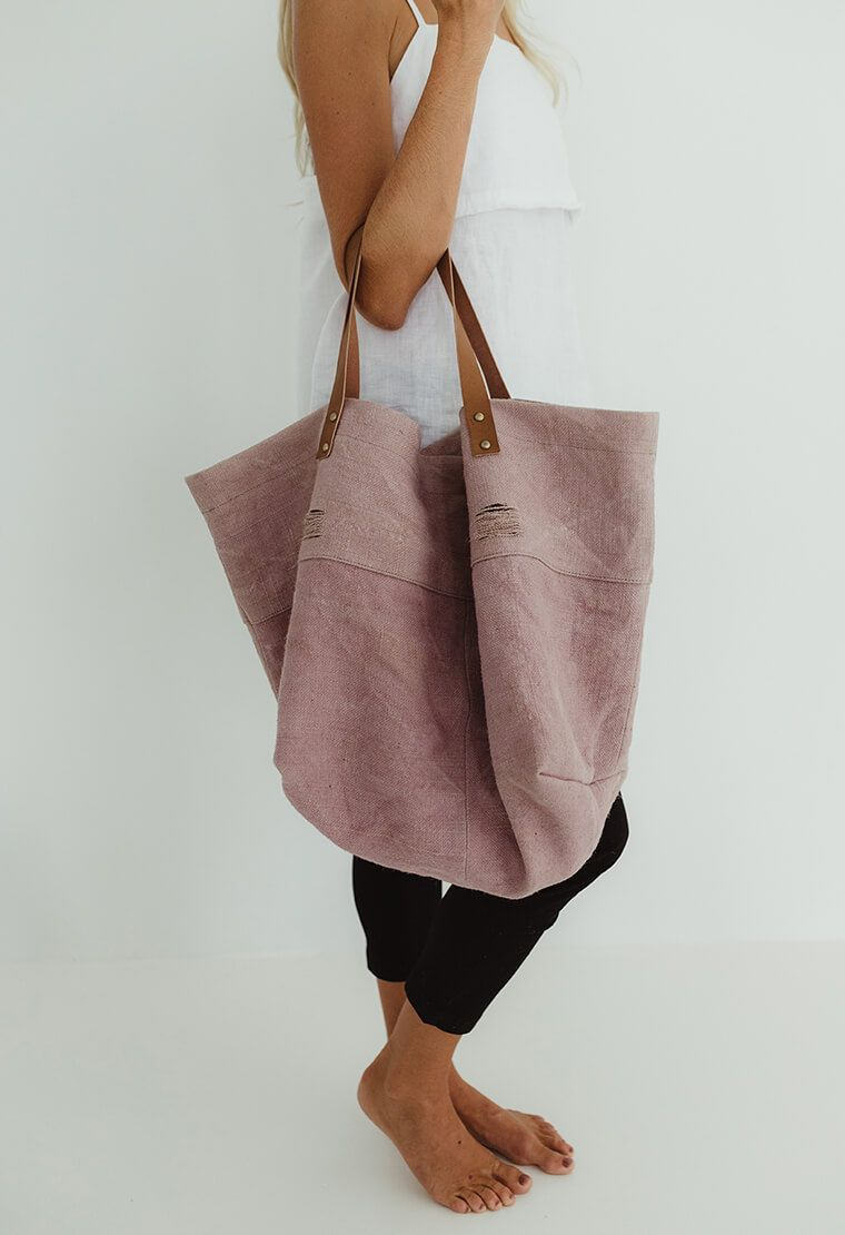 Canvas Slouch Bag