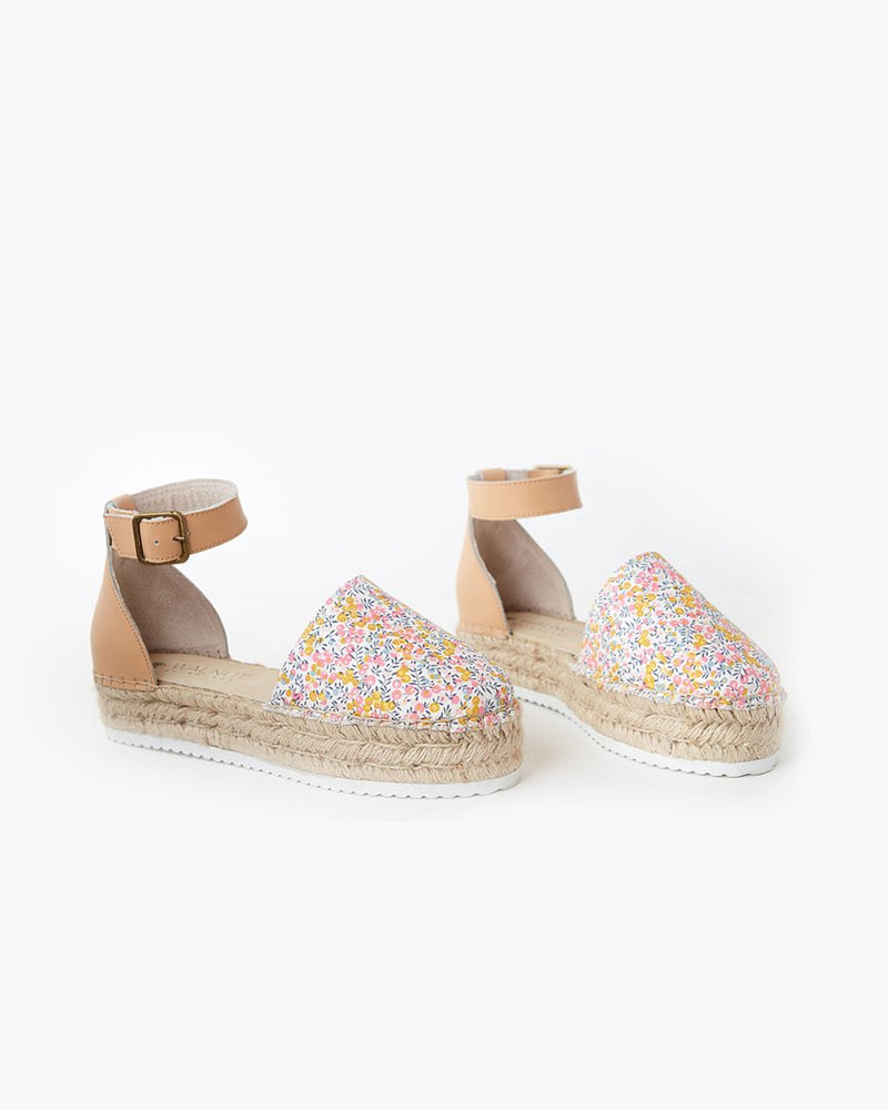 Liberty Fabric Moeta Canvas Espadrille