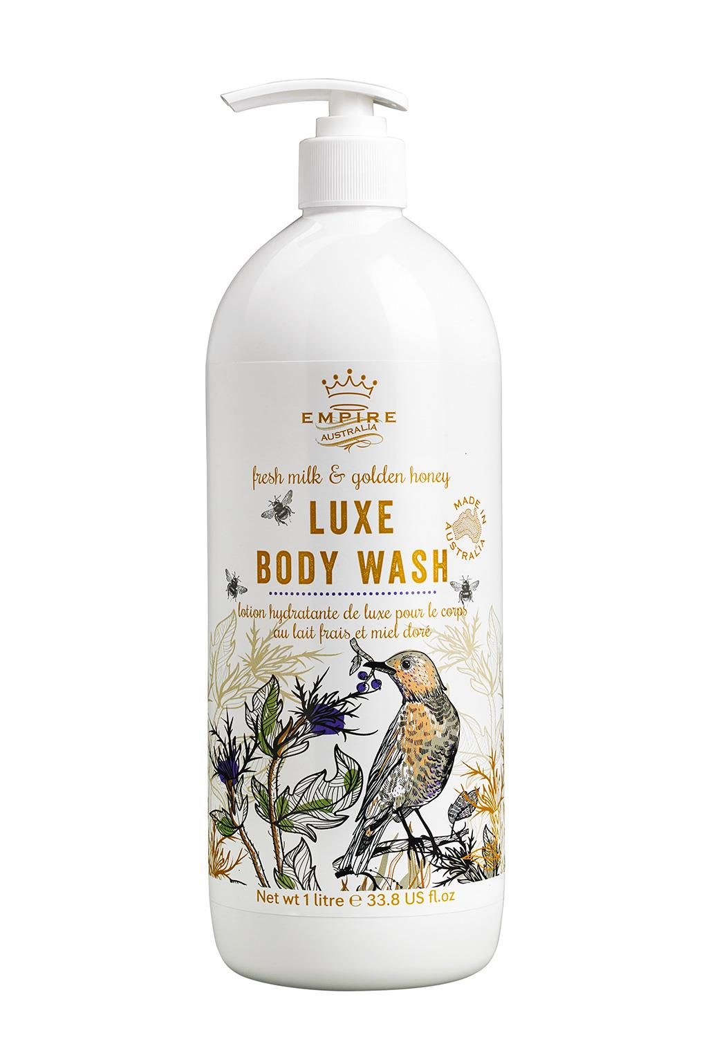 Bird Series Luxe Body Wash 1L - 2 scents