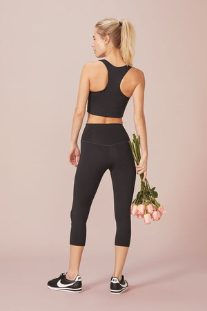 High Rise Capri Leggings