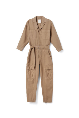 Willa Jumpsuit in Brown Sugar