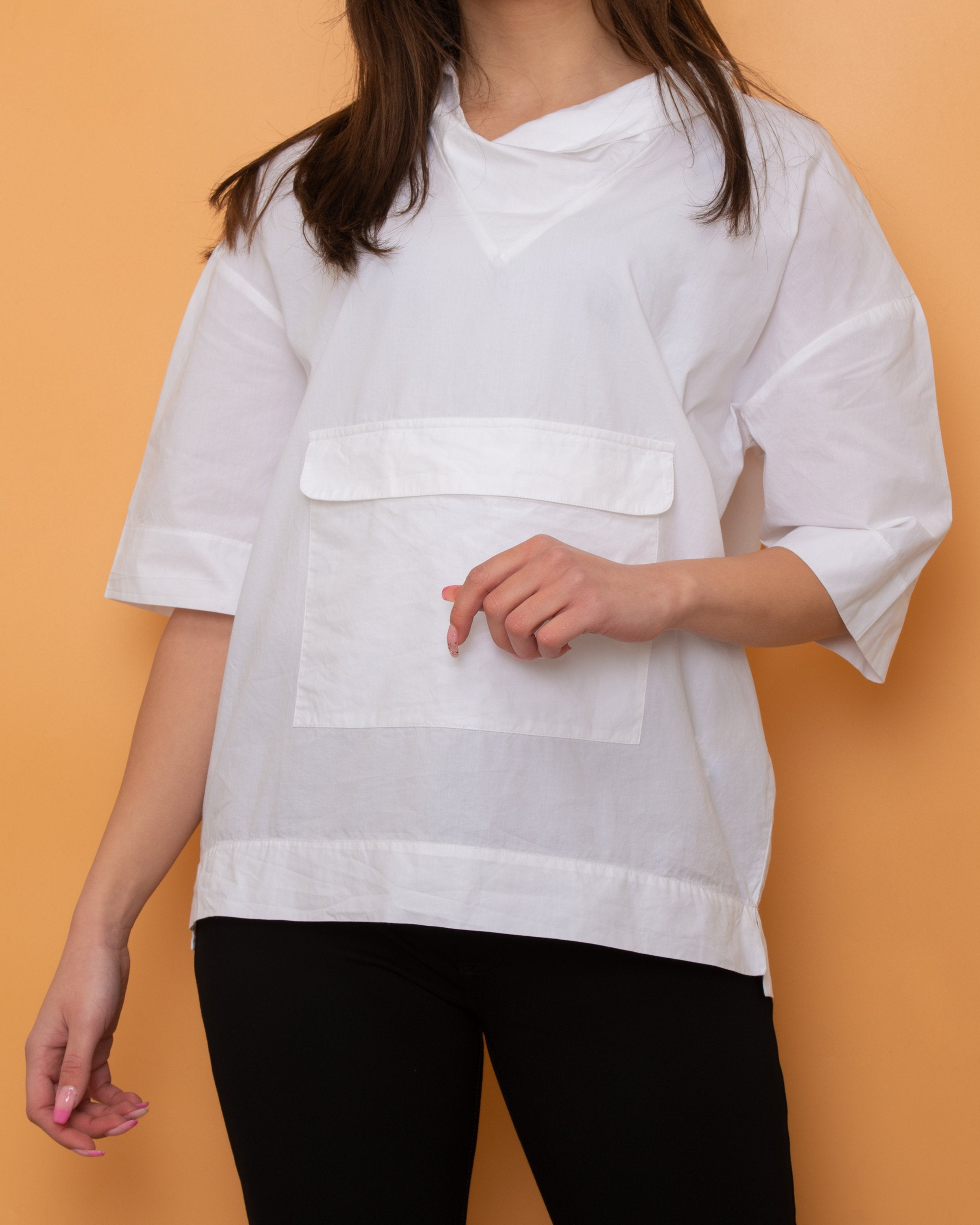 Stradivarius Top White