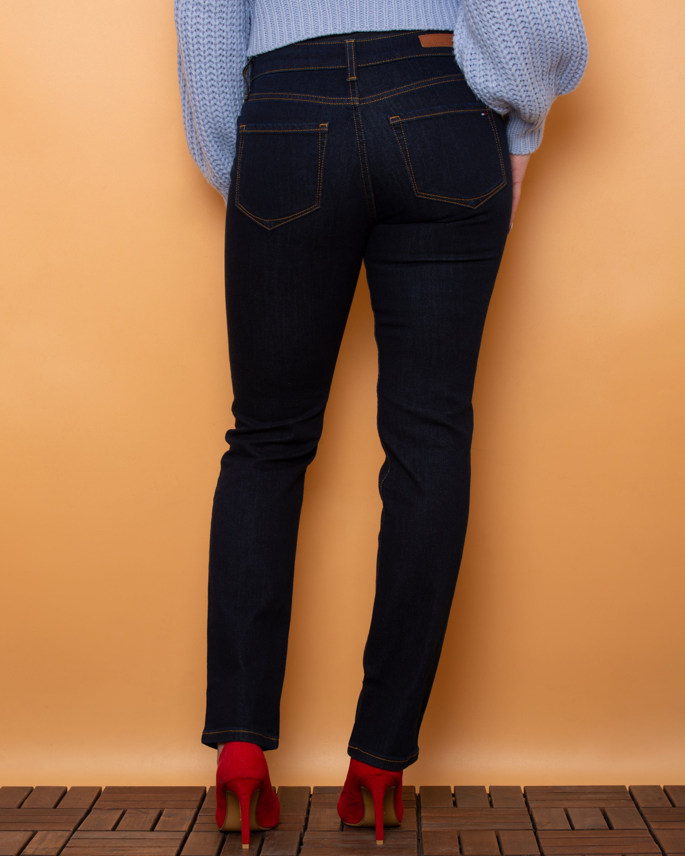 Tommy Hilfiger RW Straight Fit Jeans