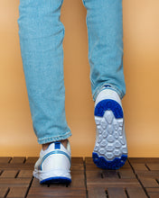 Load image into Gallery viewer, lc waikiki men white blue shoes