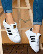 Load image into Gallery viewer, Adidas superstar White/Black