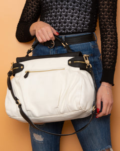 Twinset Handbag White and Black