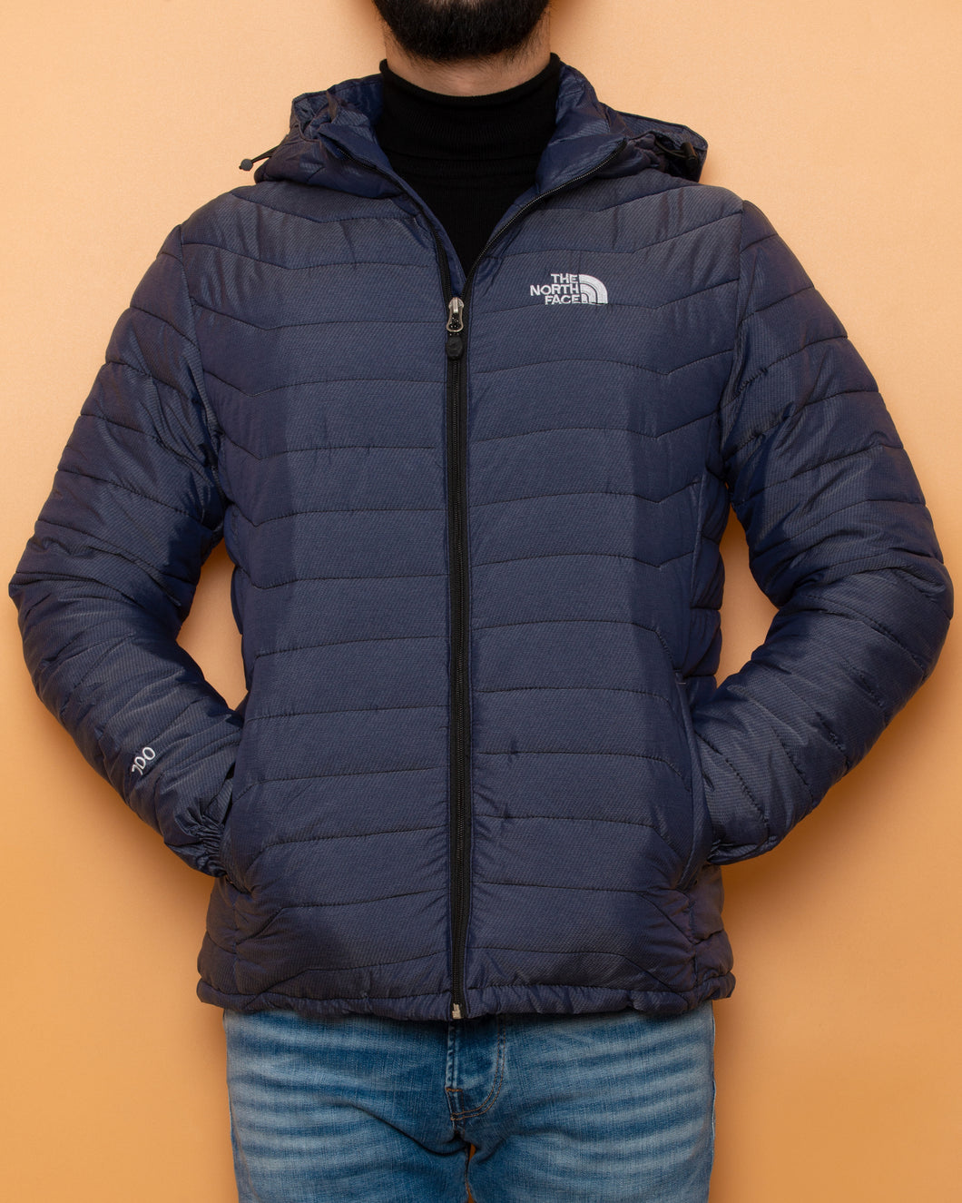 The North Face Waterproof Jacket Light Blue