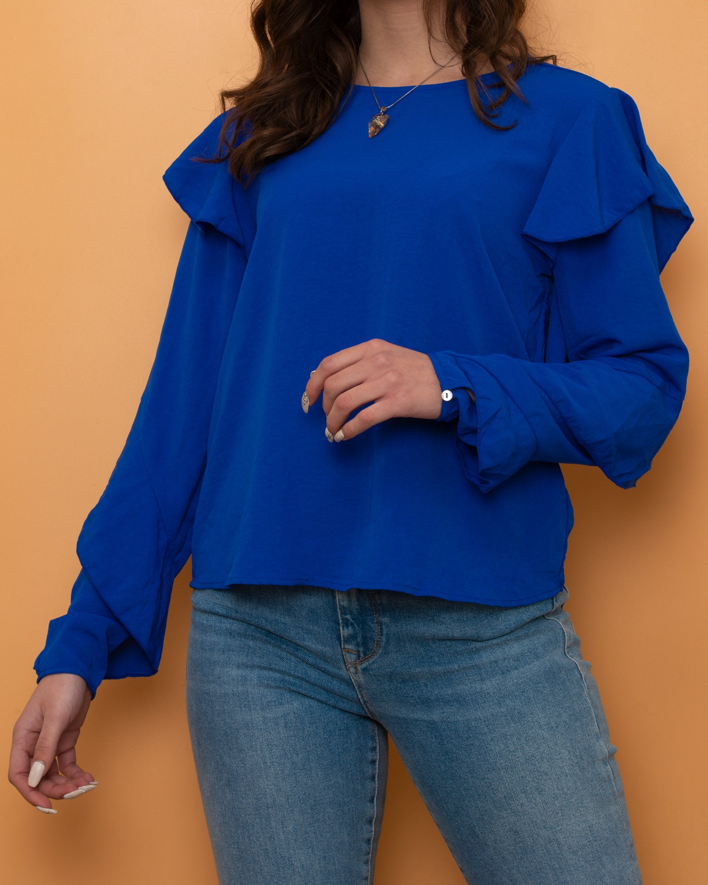 Stradivarius Blouse Blue