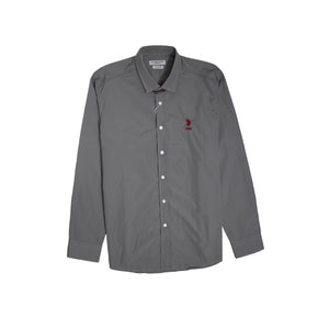 U.S. Polo Assn Men Long Sleeve Grey