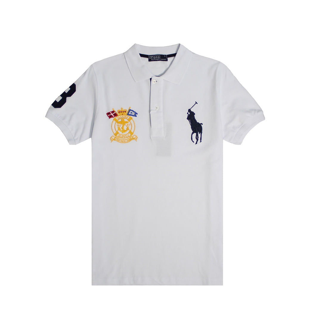 Polo Ralph Lauren T-shirt White Navy-1