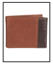 Load image into Gallery viewer, Denizen from Levi's Men's Genuine Leather Pieced Passcase Wallet - Brown